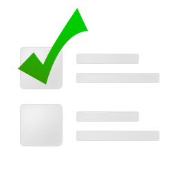 todo, yes, check, listing, arrow, right, ok, forward, list, next, correct icon