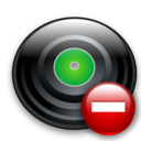 delete, remove, save, del, disk, disc icon
