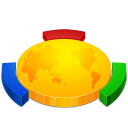 my network, network, place icon