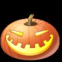 pumpkin, halloween, laugh, jack o lantern icon