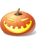 pumpkin, laugh, halloween, jack o lantern icon