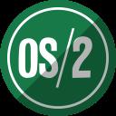 os/2, os 2, os two icon