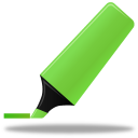 highlightmarker, green icon