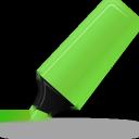 highlightmarker, green icon