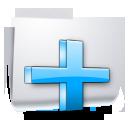 plus, add, folder icon