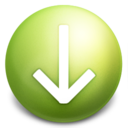 arrow,down,descend icon