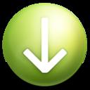 arrow,down,descend icon