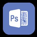 Photoshop, Solid icon
