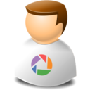 user,web,picasa icon