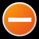 list, remove, forbidden icon