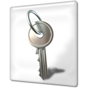 locked, encrypted, key, file icon