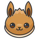 pokemon, game, go, eevee, play icon