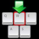 preferences, desktop, shortcuts, keyboard icon