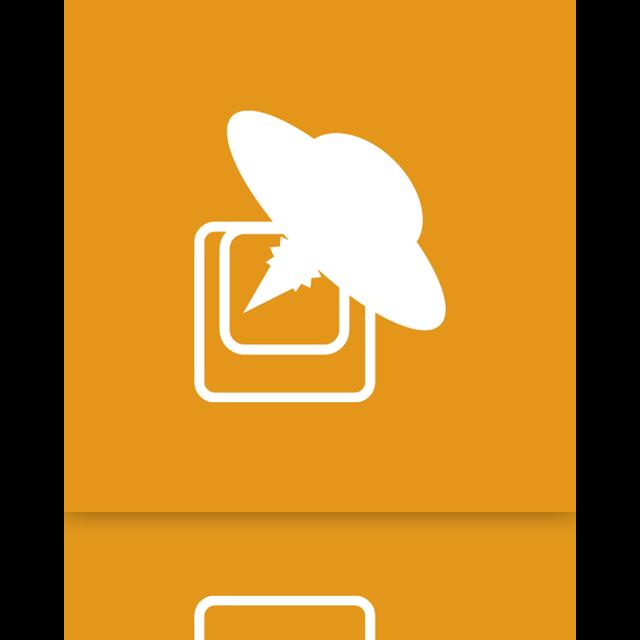 launchy, mirror, alt icon