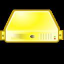 server,yellow icon