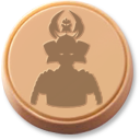 token, samurai icon