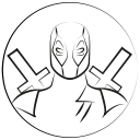 avatar, deadpool, marvel hero icon