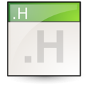 text, c++hdr icon