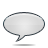 Bubble, Grey, Speech icon