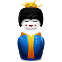 blue, china icon