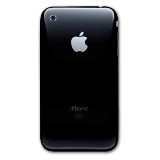 black, smartphone, cell phone, mobile phone, iphone icon