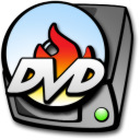 Burner, Dvd, Harddrive icon