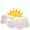 sunny, interval icon