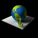 globe, world, down, earth, fall, planet, descend, descending, decrease, download icon