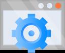 options, cog, optimization, settings icon