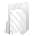 my document, document, file, paper icon