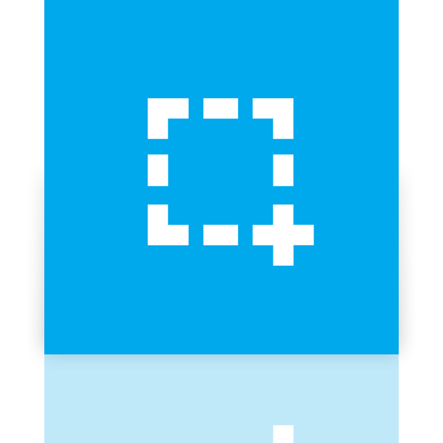 screenshot, mirror icon