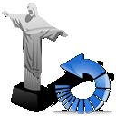 refresh, cristoredentor, reload icon