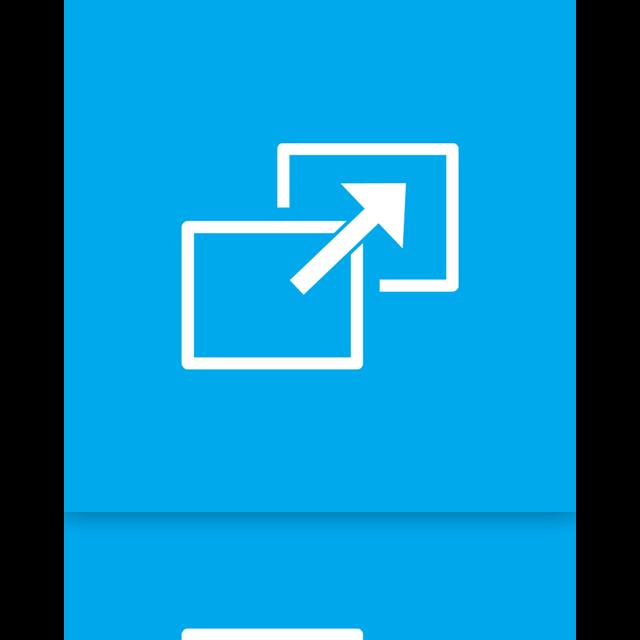 full, mirror, screen icon