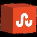 social, stumbleupon, cube, set, media icon