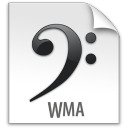 wma, file, document, paper icon