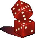 Casino, Dice icon