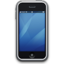apple, iphone, smartphone, mobile phone, cell phone icon