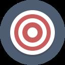 target, bullseye icon