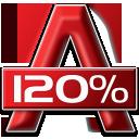 %, Acohol icon