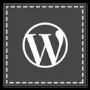 wordpress, square icon