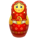 Big, Matreshka, Red icon