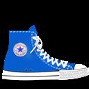 Blue, Converse icon