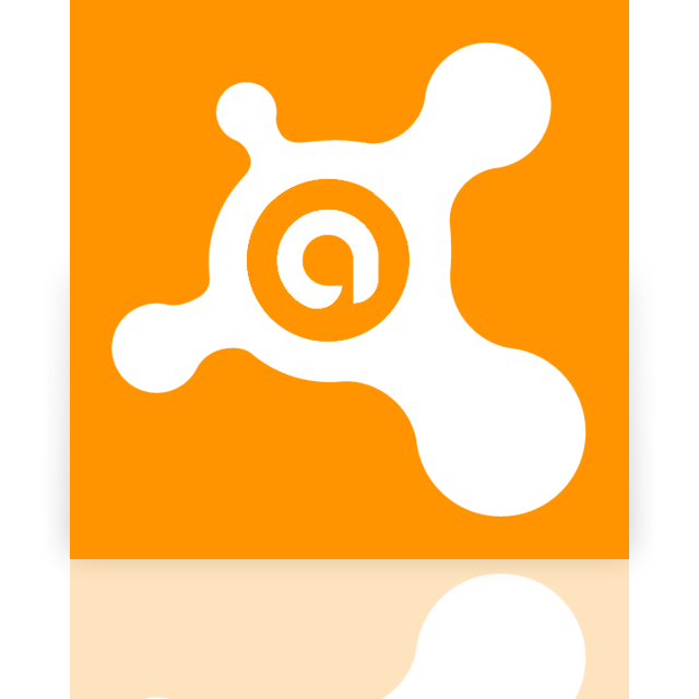 mirror, avast, antivirus icon