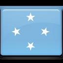 micronesia, flag icon