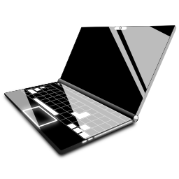 laptop, computer icon