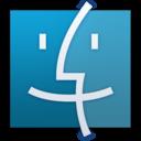 Finder Blue icon