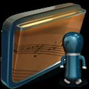 Folder, Music, My, Shared icon