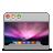 leopard, aurora, desktop icon