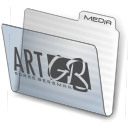 folder gb open icon