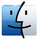 finder, folder, logo, apple, mac icon